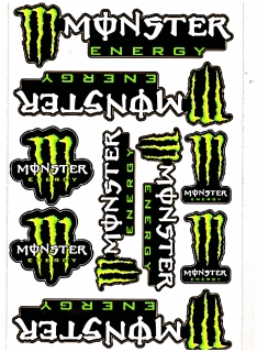 Nálepka Monster Energy A4  1